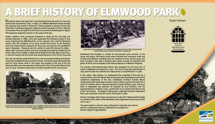 History of Elmwood